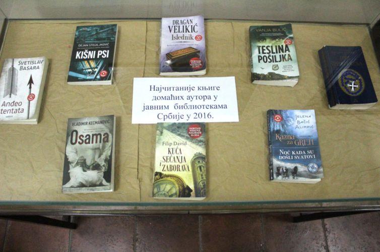 Најчитаније књиге домаћих аутора у мрежи јавних библиотека Србије у 2016. год ; Језичке недоумице